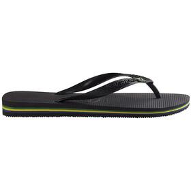 havaianas Brasil Sandales, black